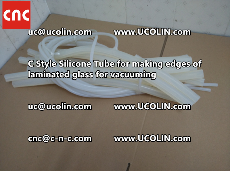 TEMPER BEND LAMINATED GLASS SAFETY GLAZING vacuuming silicone tube (103)