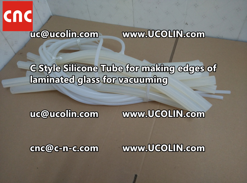 TEMPER BEND LAMINATED GLASS SAFETY GLAZING vacuuming silicone tube (106)