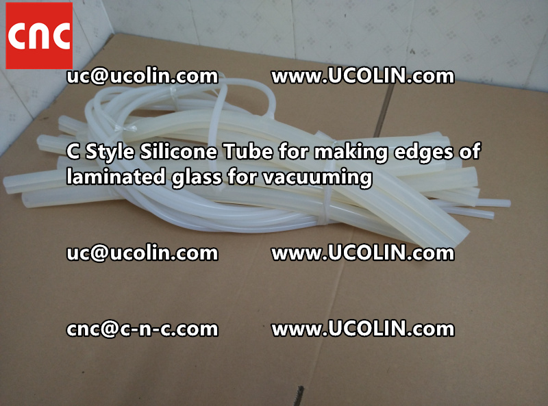 TEMPER BEND LAMINATED GLASS SAFETY GLAZING vacuuming silicone tube (107)