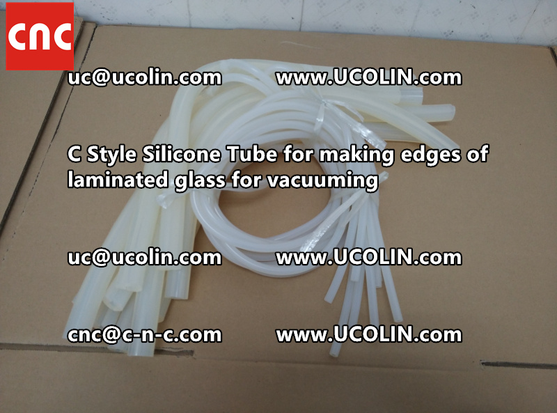 TEMPER BEND LAMINATED GLASS SAFETY GLAZING vacuuming silicone tube (109)
