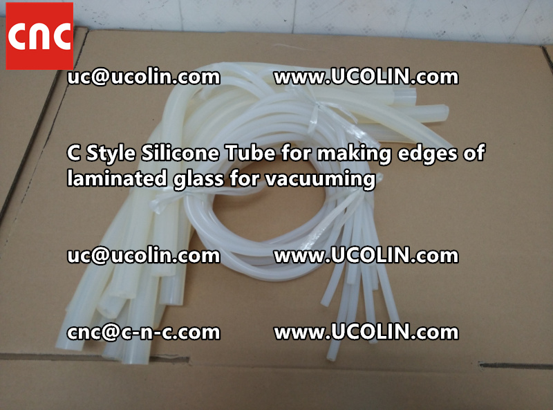 TEMPER BEND LAMINATED GLASS SAFETY GLAZING vacuuming silicone tube (110)