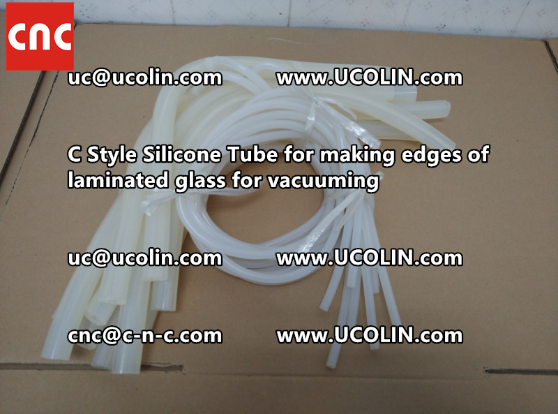 TEMPER BEND LAMINATED GLASS SAFETY GLAZING vacuuming silicone tube (112)