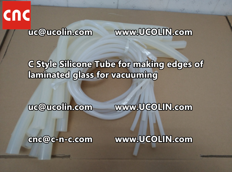 TEMPER BEND LAMINATED GLASS SAFETY GLAZING vacuuming silicone tube (113)