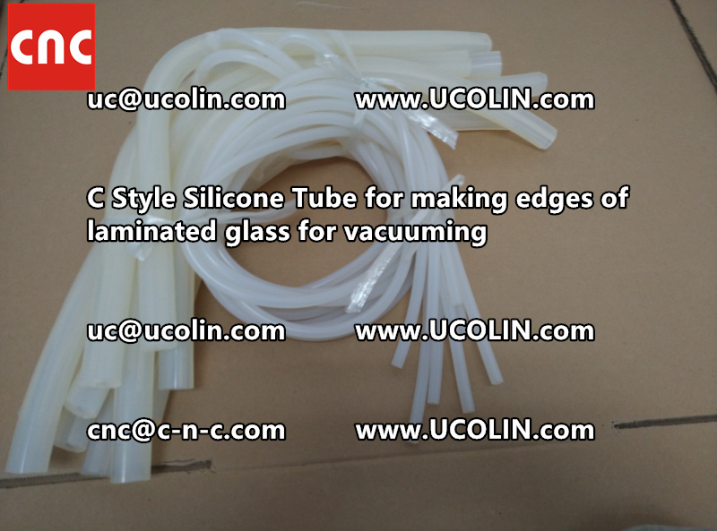 TEMPER BEND LAMINATED GLASS SAFETY GLAZING vacuuming silicone tube (115)